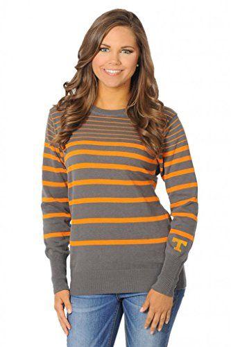 UG Apparel Women's University of Tennessee Volunteers Sweater X-Large gray/orange