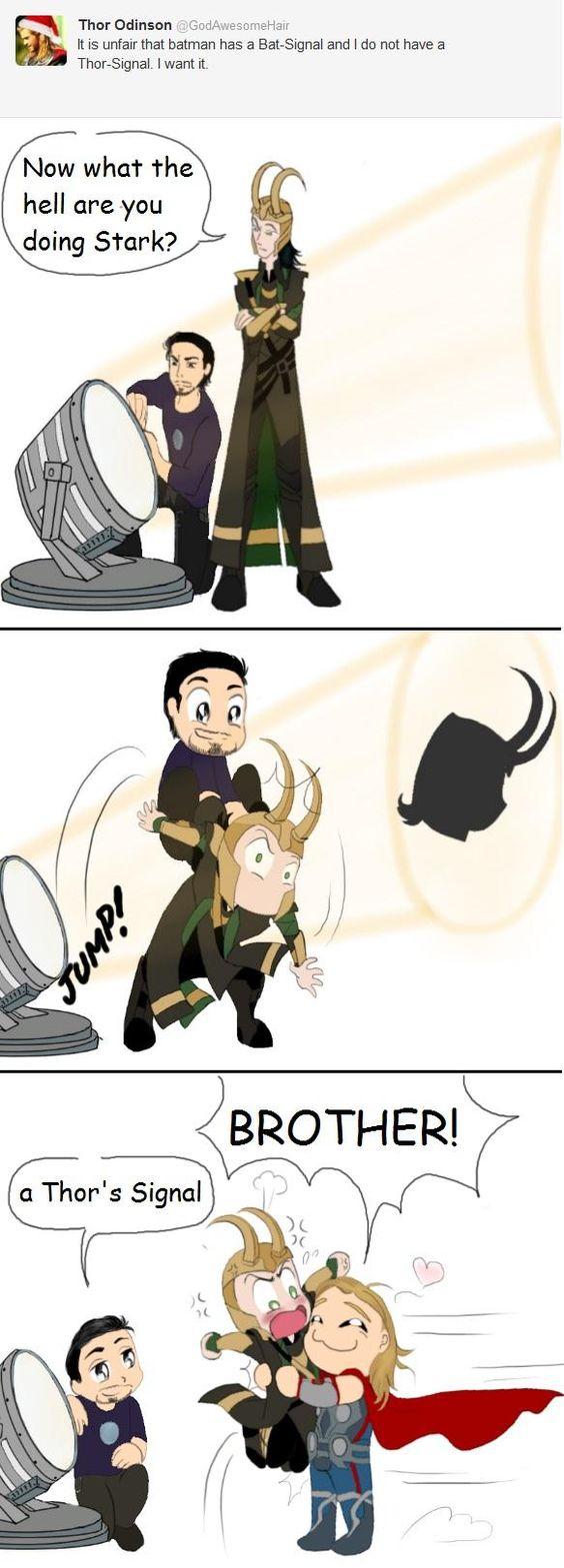 Thor's Signal. by Alirusa.deviantart.com on @DeviantArt