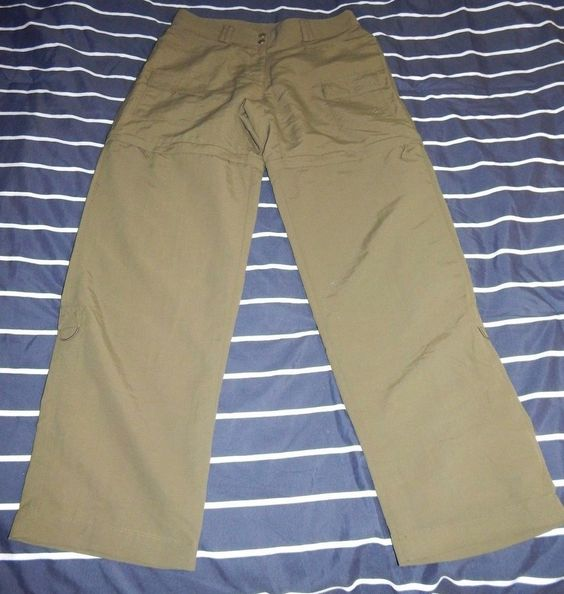 Women's size 6 Magellan sportswear Olive convertible pants with pockets  #Magellan #Cargo