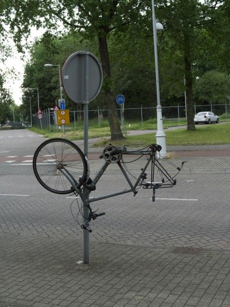 If bikes could strip...