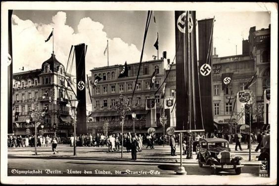 1936 Unter den Linden - Die Kranzler Ecke