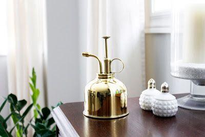 AM Dolce Vita, Vintage Brass Plant Mister