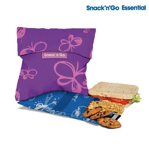 Snack'n'Go  Essential - sacos em tecido reutilizáveis para snacks. Disponível nas lojas pingo doce