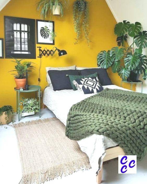 Senfgelb Schlafzimmer Ideen Homedesignideas Homedecorideas Interiordesignide Senfgelbes Schlafzimmer Schlafzimmer Design Zimmer Einrichten