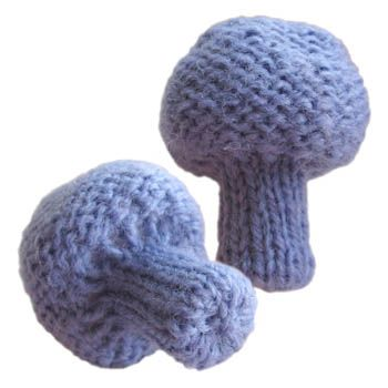 Knitted Violet Webcap ~ Free Pattern