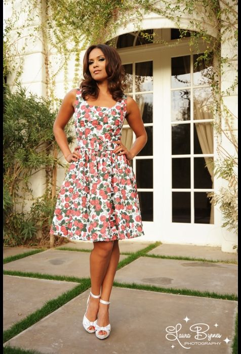 This I why I need to start sewing my own clothes. BC I can't afford this fabulous dress.