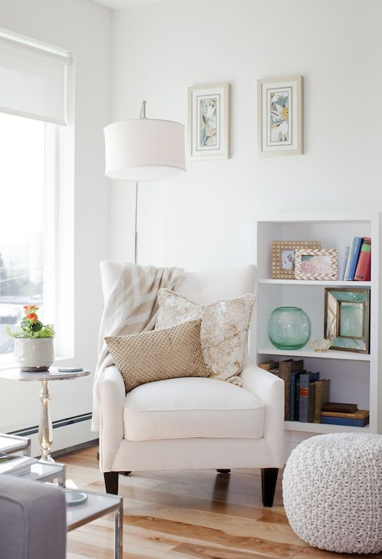I think jillian harris is my design soulmate this is a - Living room corner decor ...
