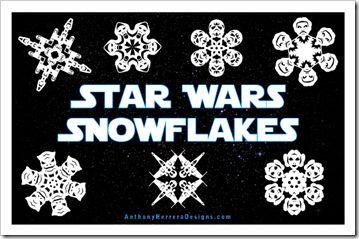Star Wars Schneeflocken