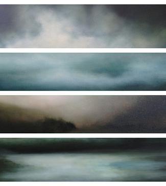 Sharon Kingston Atmospheric Paintings