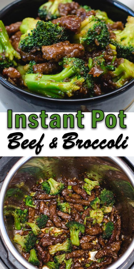 Instant Pot Beef and Broccoli - Delicious dinner