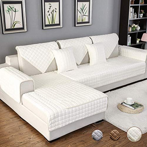 Best Seller Ostepdecor Couch Cover Sofa Cover Quilted Sectional
