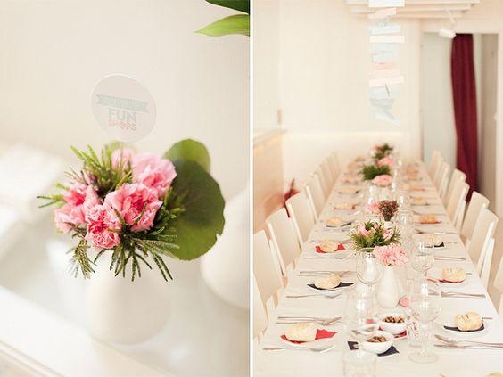 brancoprata decoracao:Decoração das mesas.