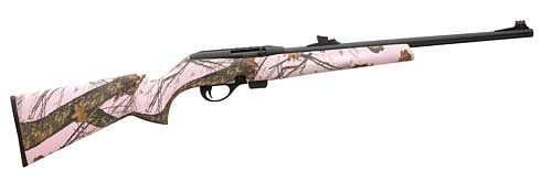 Remington 597 Rifle 22LR Pink Camo W/Truglo 80854