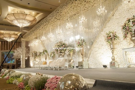 Yusdy & Viona's Wedding Day; Venue at Ritz Carlton Pacific Place; Decoration by Lotus Decoration; Lighting by Lightworks