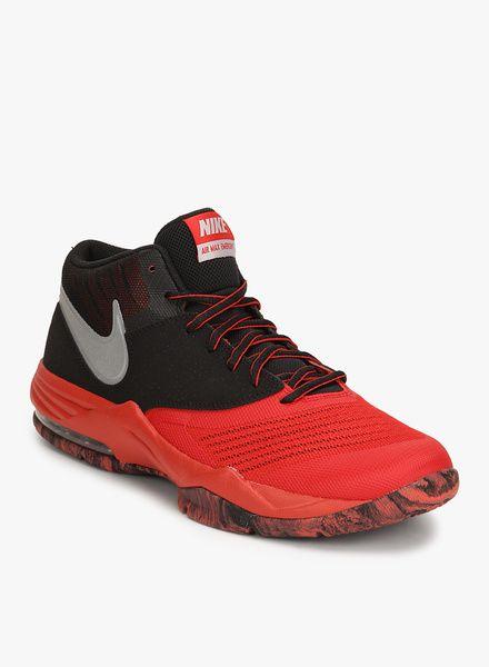 Nike Air Max Emergent Red Basketball Shoes   #Nike, #BasketballShoes