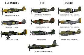 Image result for wwii airplanes pictures