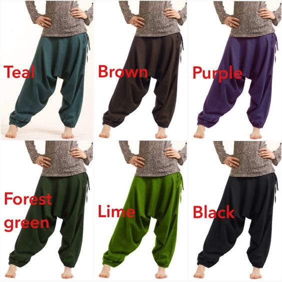 SAROUEL PANTALON yoga  couleurs assorties  par GekkoBoHotique