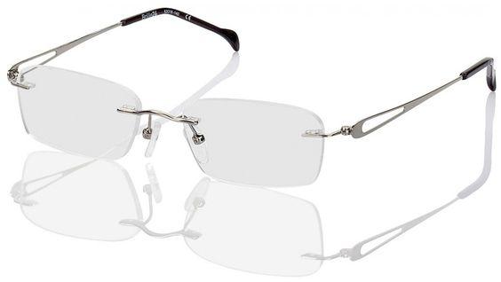 Randlose Brille Mendoza. Geschmackvoll schlichte randlose Brille mit geschwungenem Nasensteg für Damen und Herren. Material: Randlose Brille. Bügelenden, Nasenpads: Kunststoff. Eigenschaften: Akzente setzen hier die Bügel. Stil: Bei aller Schlichtheit erlaubt sich die Brille einen angedeuteten Schnörkel – mit den schicken Bügeln