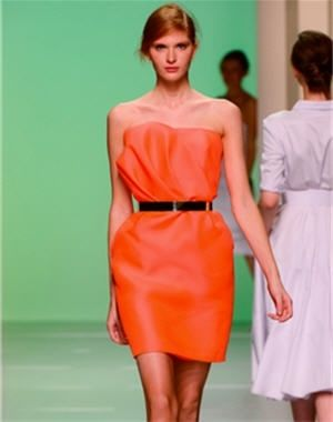 robe fleur robe de tara jarmon s jarmon spring robe orange couleur orange robes soire robe cocktail mariage robe - Tara Jarmon Mariage