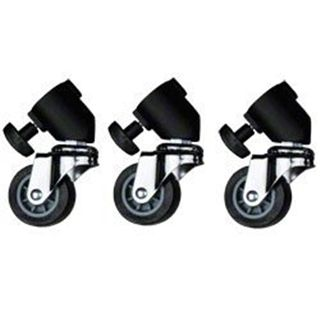 Sitema de ruedas para Trípodes de Iluminación Walimex (pack de 3 unidades) -