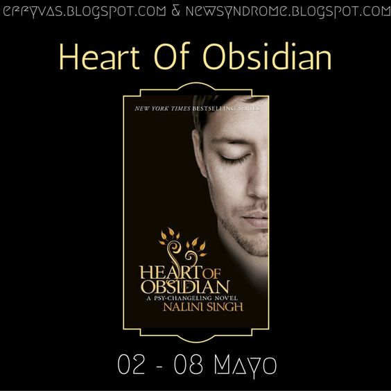 Heart Of Obsidian - #NaliniSingh #RelecturaPsiCambiantes: