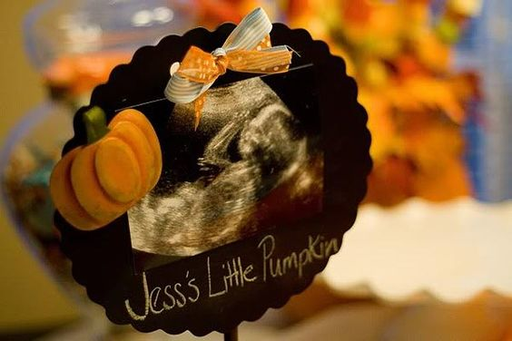 Fall Baby Shower... Not Going to have a second baby shower but I do love the idea for an announcement
