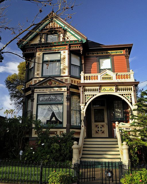 Reed historic district victorian san jose a gilded age for San francisco victorian houses history