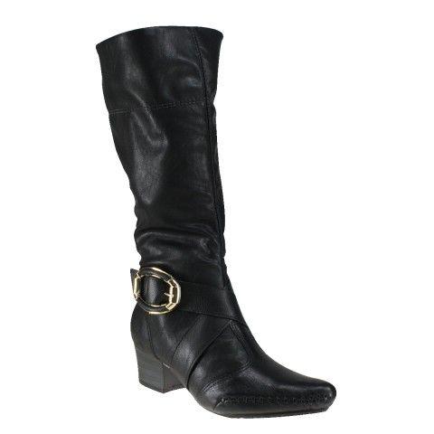 Bota Ramarim Total Comfort 14-57137 - Preto (Confort Soft) - Calçados Online Sandálias, Sapatos e Botas Femininas | Katy.com.br