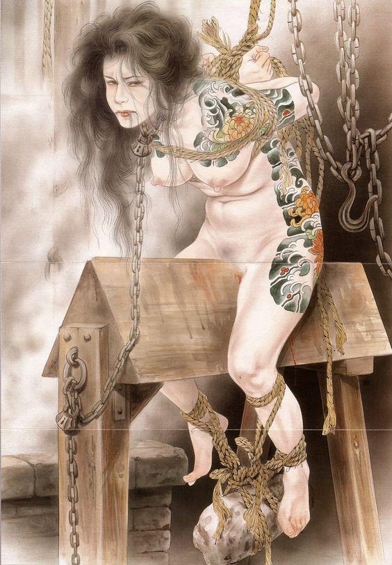 higyaku-no-miki: 小妻 容子 さんの絵