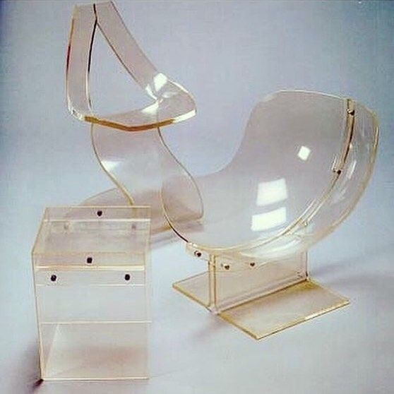 A Room Of Glacé Acrylic Furniture