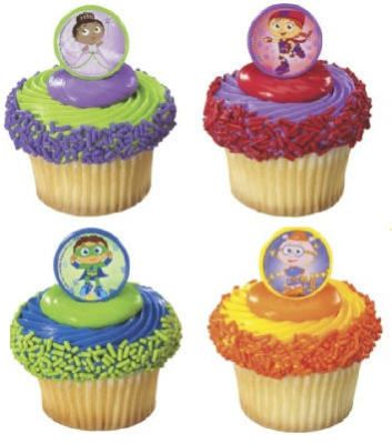 SUPER WHY PARTY FAVOR CUPCAKE TOPPERS