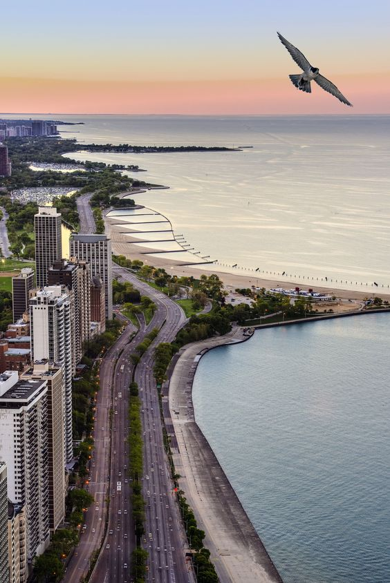 Chicago in the Morning