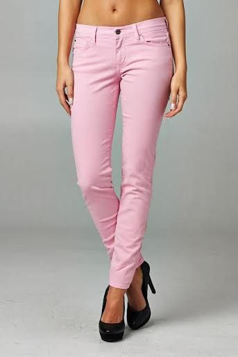 Angry Rabbit Jeans (in pink)