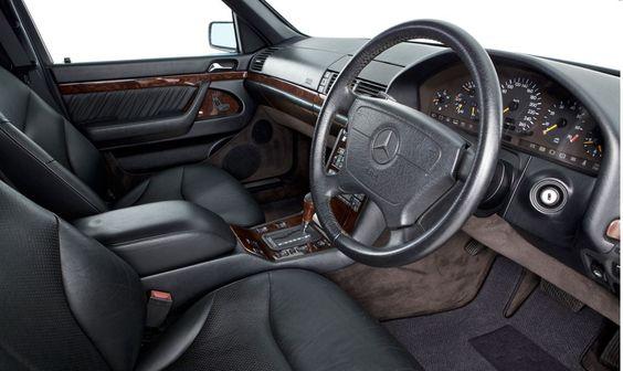 1995 MERCEDES S320