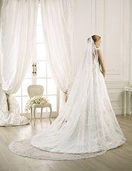 Pronovias te presenta su velo V-3315 para novias. | Pronovias