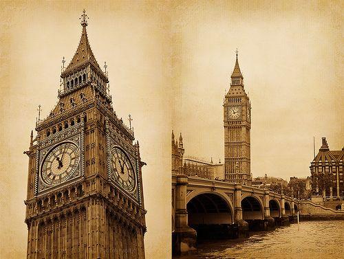 Big Ben - London, ENGLAND