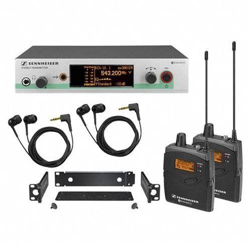 [+]  Sennheiser EW 300-2IEM G3 - In-ear Monitoring System - B-Range (626 - 668 MHz)