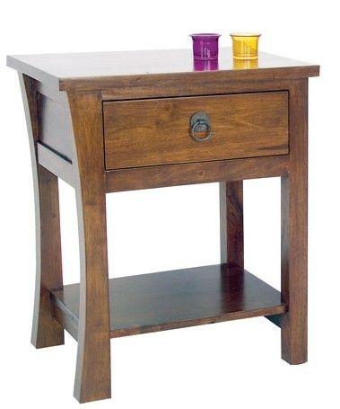 massif colonial de 2 chevet en bois style Table MAORI modèle c3ARq4L5j