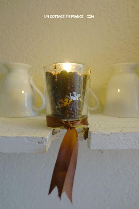Préparation d'un bol senteur au café pour les fêtes 8