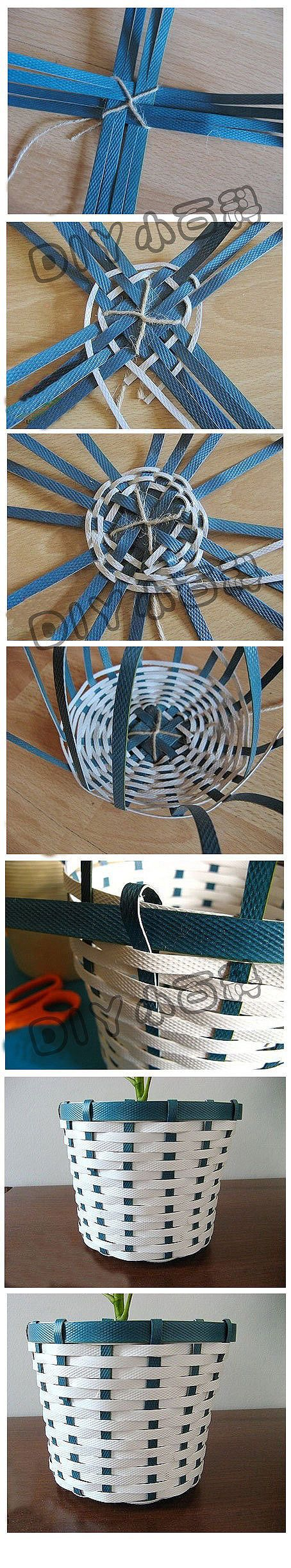 simple basket weaving instructions