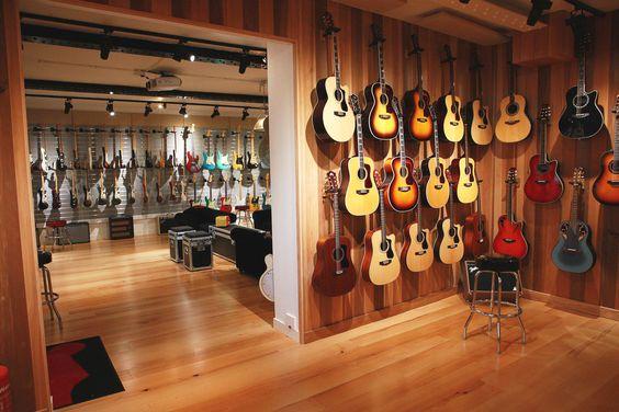 Guitar Music Room Ideas