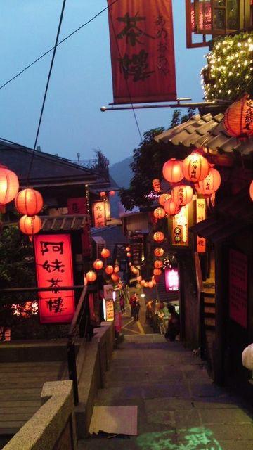【九分、台湾】ジブリ映画『千と千尋の神隠し』の舞台になった台湾の九分。Jiufen Old Street, Taiwan