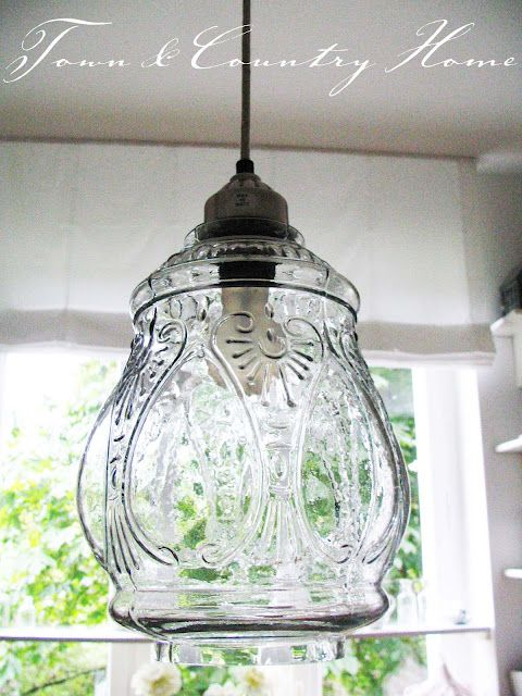 Pretty Lamp From Town And Country Home Blog