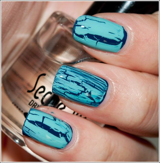 crackle nails LOVE