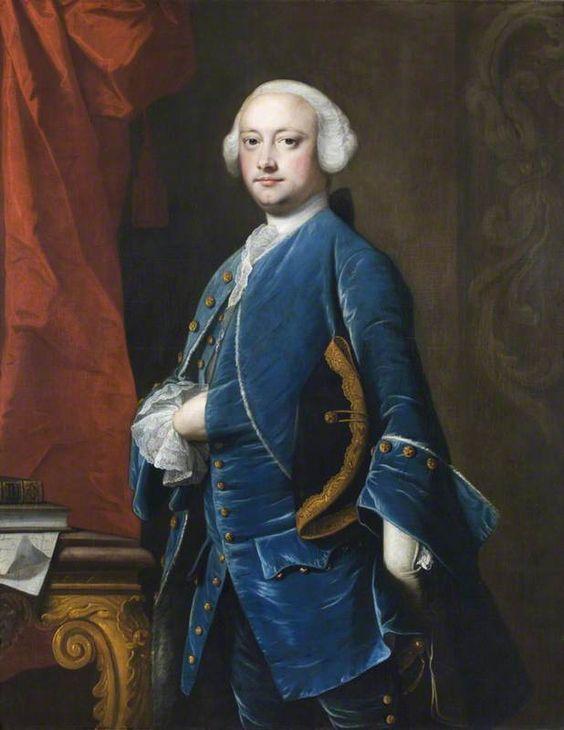 Thomas Hunt III (1721–1788), MP by Thomas Hudson, c. 1765. National Trust: