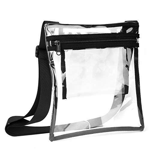 Engreído inteligente Araña de tela en embudo  Vorspack TPU Clear Cross-Body Purse NFL Stadium Approves Clear Bag with  Inner Pocket and Adjustable Strap for Sports Event Concert Festival (с  изображениями) | Аксессуары