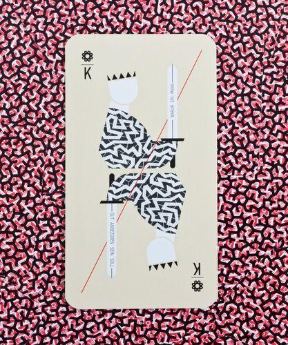 Formafantasma . Vienna Spielkarten