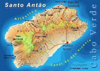 Ilhas de Cabo Verde - Santo Antao