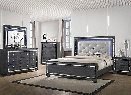 Perina 4 Pc King Bedroom Set King Bedroom Sets Bedroom Sets
