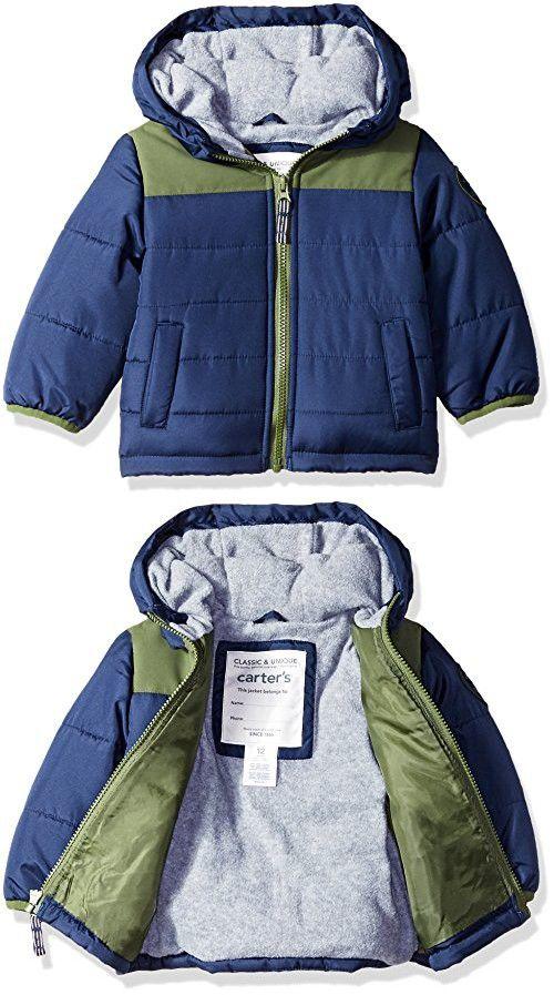 Carters Baby Boys Adventure Bubble Jacket